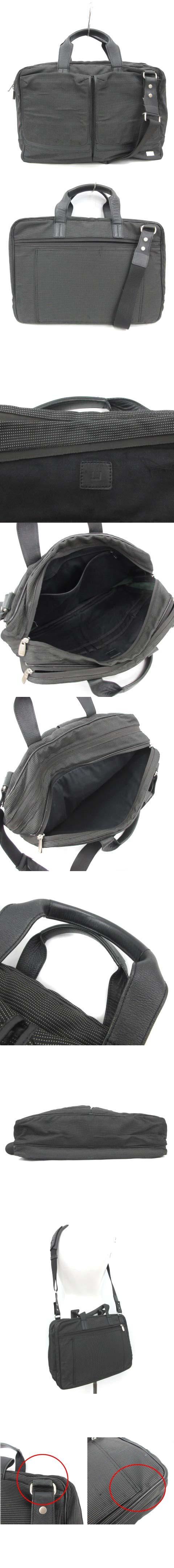 ビジネスバッグ ブリーフケース ハンドバッグ ショルダーバッグ 2way A4サイズ 黒 ブラック グレー /PJ