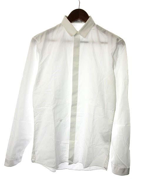 timeless design ddf91 5f6b1 ディオールオム Dior HOMME シャツ ワイシャツ 長袖 38 白 ホワイト /KH メンズ