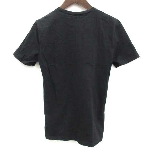 quality design f7712 a7cea ディオールオム Dior HOMME Tシャツ カットソー 半袖 Glam rock Season プリント 黒 /YH メンズ