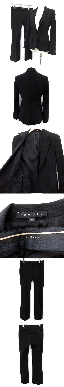 スーツ セットアップ 上下 ジャケット パンツ XO 黒 ブラック /YM