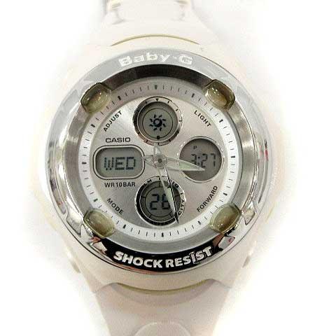 best service 9a471 fb5a3 ベビージー Baby-G カシオ CASIO 腕時計 ウォッチ ラバーコレクション クリスマス限定 デビル&エンジェル 白 BGR-30LV /YM  ●D レディース