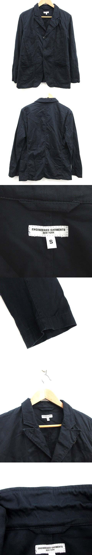 ジャケット テーラード シングル S 紺 ネイビー /KH