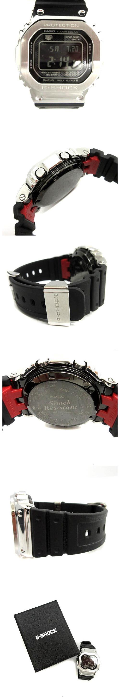 腕時計 ウォッチ デジタル フルメタル タフソーラー ショックレジスト 黒 シルバー GMW-B5000-1JF /NT13