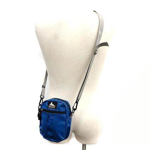 グレゴリー GREGORY ショルダーバッグ クイックポケット 青 ブルー /KH ■CA メンズ