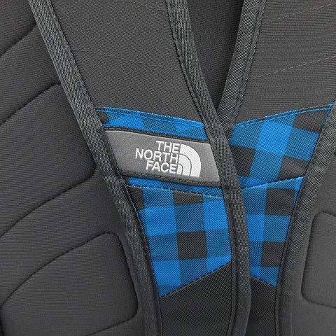 ザノースフェイス THE NORTH FACE バッグ リュック デイパック JESTER チェック 青 黒 /KH ■CA メンズ