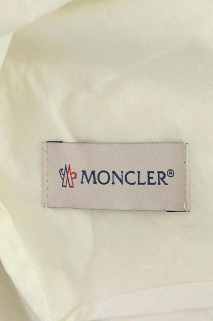モンクレール MONCLER MONCLER GENIUS 2 Karl Templer 19SS CAMICIA ワンピース シャツワンピ ロング 長袖 前開き 国内正規 38 白 オフホワイト /ES ■EC レディース