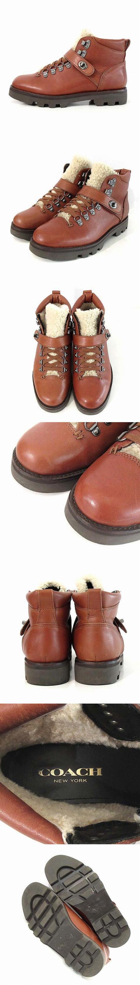 ショート ブーツ トンプキンズ ハイカー シアリング TOMPKINS HIKER SHEAR G1074 レザー 茶 7 靴