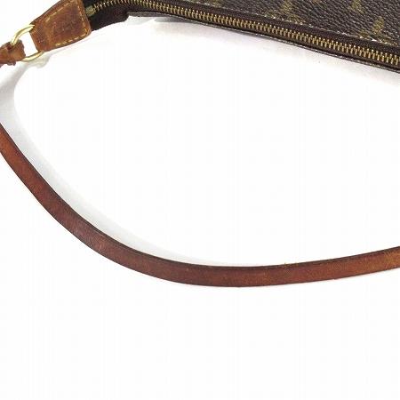 ルイヴィトン LOUIS VUITTON モノグラム アクセソワール ポシェット ショルダー バッグ アクセサリー ポーチ M51980 茶 ブラウン 鞄 レディース