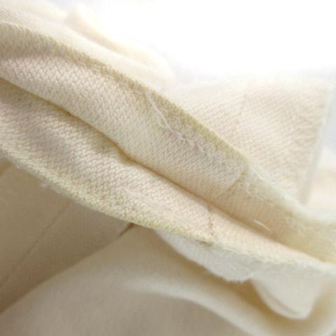 マーガレットハウエル MARGARET HOWELL パンツ ショート ハーフ タック コットン 白 ホワイト系 1 ボトムス ※VGPM レディース