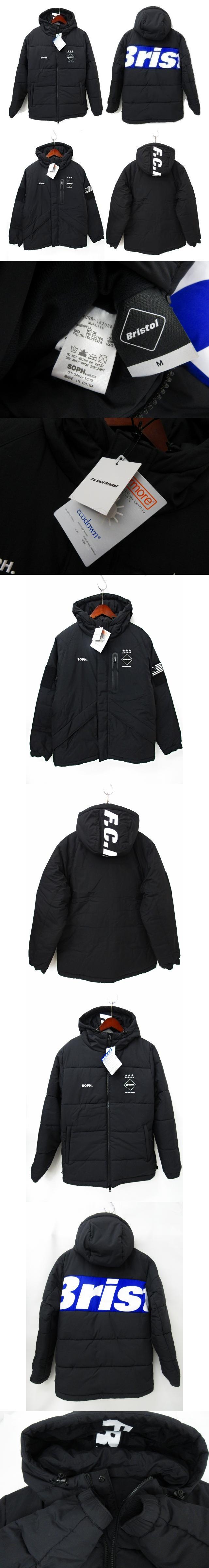 16AW REVERSIBLE PADDED JACKET リバーシブル 中綿 ジャケット 黒 ブラック M FCRB-167026 パーカー フード フーディー