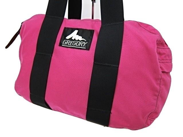 グレゴリー GREGORY ボストンバッグ XS ピンク ロゴ USA製 鞄 かばん メンズ