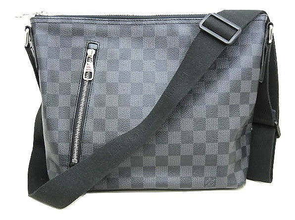 purchase cheap 16d7c aa11a ルイヴィトン LOUIS VUITTON ダミエグラフィット ミックPM N41211 ショルダーバッグ 斜めがけ かばん 黒系 メンズ レディース
