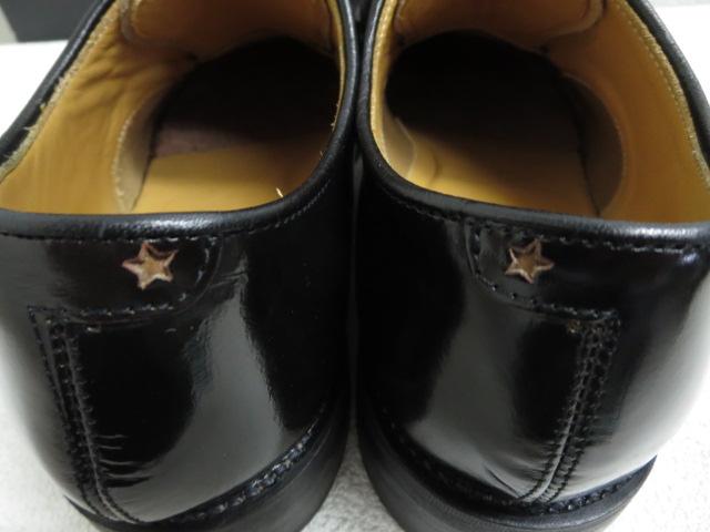 ティーエムティー TMT オシャレでかっこいい レザーシューズ ビジネスシューズ 黒 ダークブラウン サイズ7 ■管理番号L15930YER メンズ