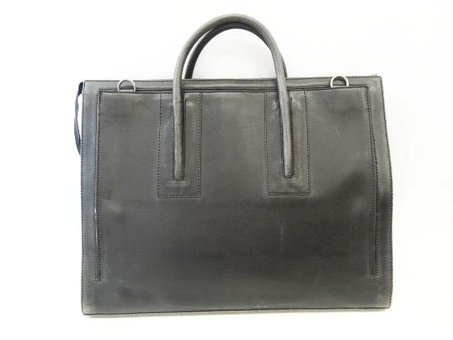 美品 マットアンドナット MATT&NAT ビジネスバッグ ブリーフケース 書類カバン ハンド 加工 黒 ブラック メンズ レディース