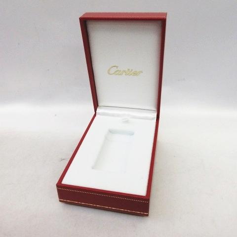 the latest de3fc 0bb17 カルティエ Cartier ライターケース 空箱 レザーボックス ゴドロン用 CA120115 COCA0003 レッド  メンズ/レディース/ユニセックス