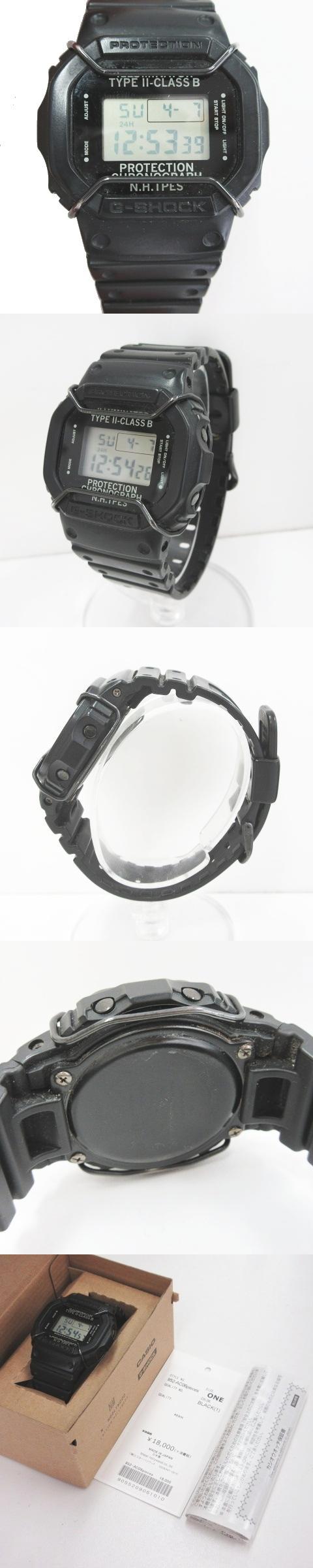 ×N.HOOLYWOOD/ミスターハリウッド デジタル 腕時計 DW-5600NH-1JR ブラック