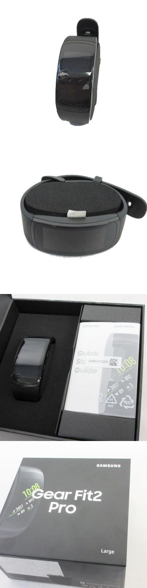 SAMSUNG/サムスン Galaxy Gear Fit2 Pro Large SM-R365 スマートバンド フィットネスバンド 黒 ブラック