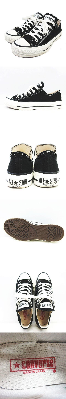 スニーカー シューズ オールスター ローカット ALL STAR J OX 19093410000230 ジャーナル サイズ4.5 黒 ブラック