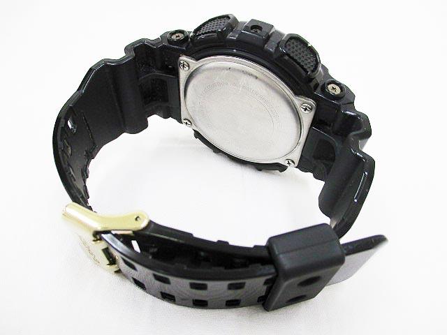 カシオジーショック CASIO G-SHOCK 腕時計 デジアナ GA-110GB 黒 ゴールド OA69 メンズ