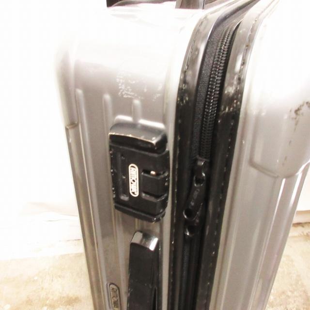 リモワ RIMOWA スーツケース SALSA サルサ 85652 2輪 旅行かばん シルバー 0509 その他