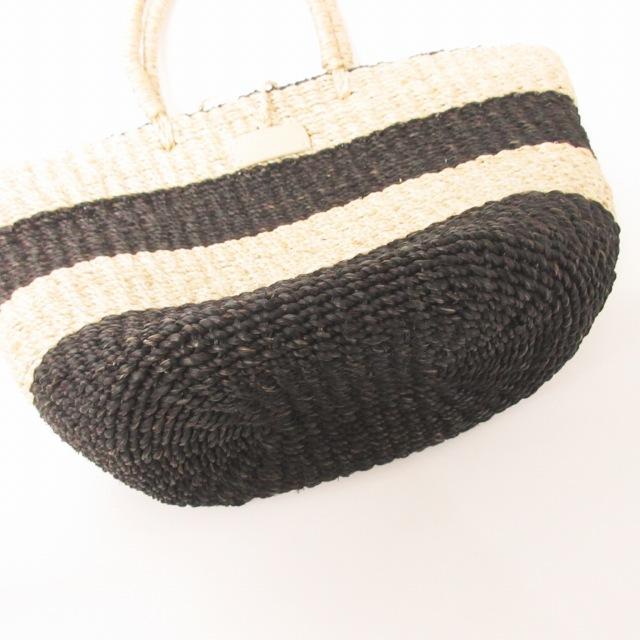 アニエスベー ボヤージュ Agnes b. VOYAGE バスケット かごバッグ ボーダー 巾着付き ハンドバッグ 0617 レディース