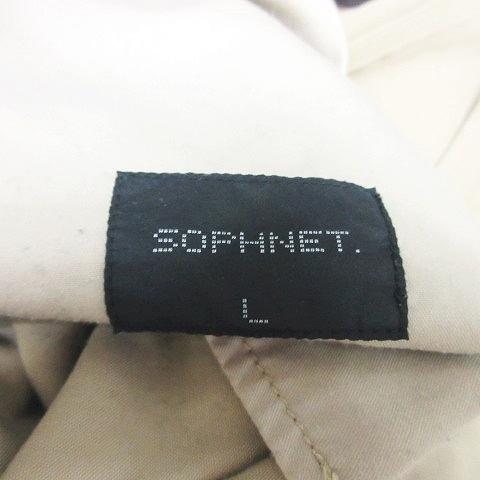 ソフネット SOPHNET. 13年 SARROUEL PAINTER PANT チノパン 薄手 123079 ベージュ L 0718 メンズ