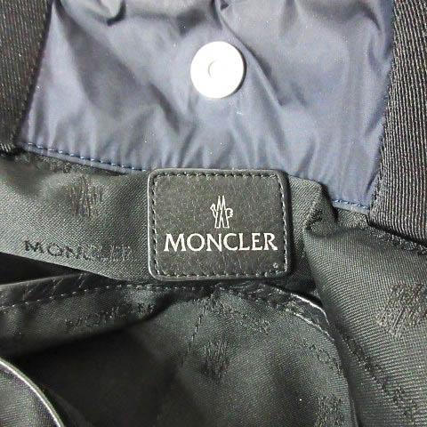モンクレール MONCLER MOMMY BAG マザーズバッグ トートバッグ キルティング ネイビー ☆AA★ 0516 レディース