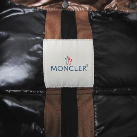 モンクレール MONCLER QUINCY クインシー 45300/50/54078 美品 コーティング ダウンジャケット ブラウン 1 0520 ECR5 レディース