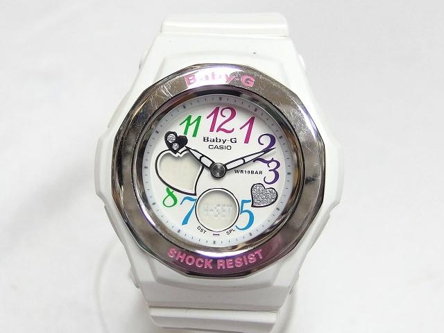 hot sale online 156e8 7aac6 ベビージー Baby-G カシオ CASIO 5070 BGA-101 10気圧防水 文字盤白 ホワイト /C レディース