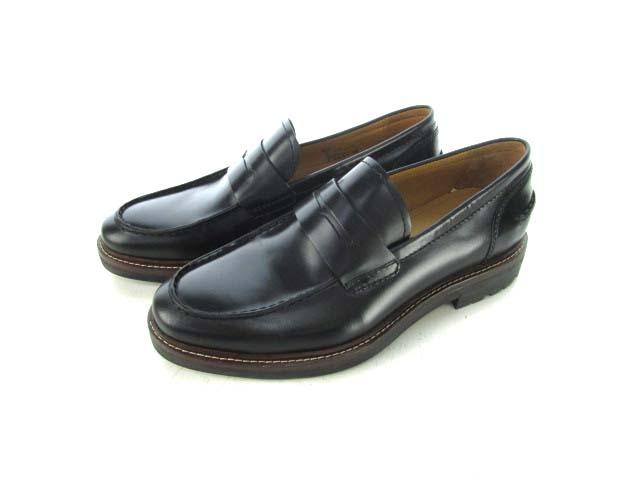 6ba3cf43b69b コーチ COACH ローファー ビジネスシューズ レザー G1650 靴 黒 ブラック 8D メンズ