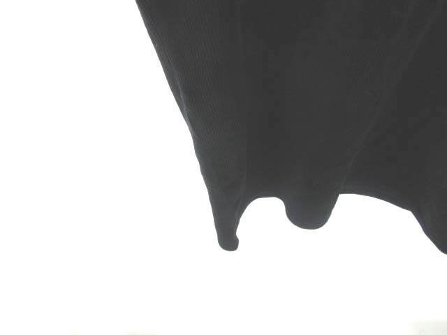 fca2ebc2777c0 ... クロッシー CLOSSHI ワンピース コーデュロイ ロング丈 ノースリーブ 黒 ブラック L レディース ...