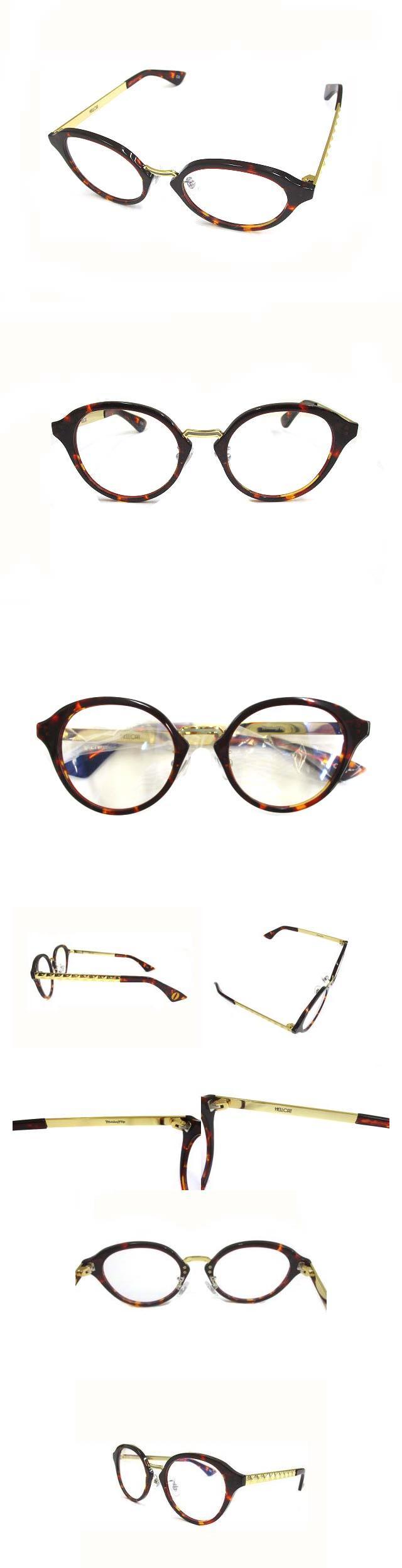 モンキーフリップ MonkeyFlip ヘルキャット HELLCAT 眼鏡 アイウェア サングラス ブラウン ゴールド