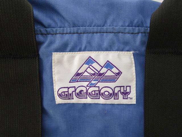 グレゴリー GREGORY 90's 紫タグ ボストンバッグ ダッフルバッグ ヴィンテージ 旅行カバン ブルー M メンズ