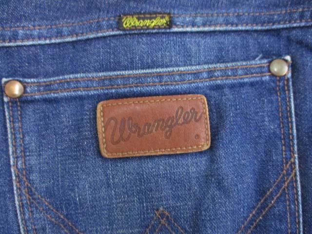 ラングラー WRANGLER 13MWZ デニムパンツ ジーンズ 復刻 日本製 ブルー W33 メンズ