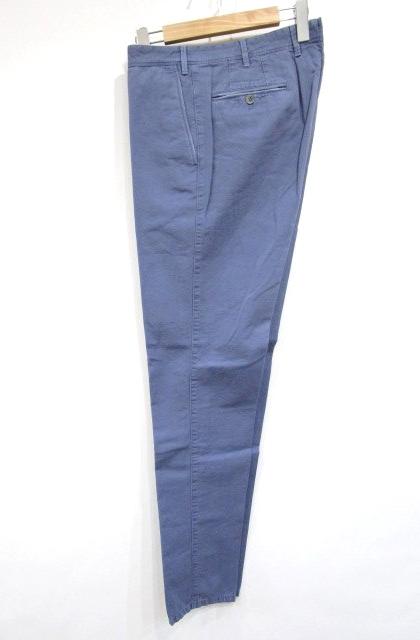 427aaad2b00d71 未使用品 ピーティーゼロウーノ PT01 FORWARD パンツ リネン コットン チノパン ブルー 50 ペイント KGS メンズ