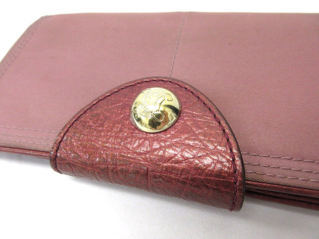 c279c6092d83 ... セリーヌ CELINE 長財布 二つ折り 小銭入れあり ピンク レディース ...