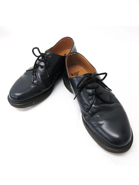 ドクターマーチン DR.MARTENS シューズ レースアップ 紐靴 ビジネス 3 ホール レザー ブラック 黒 8 27.0 メンズ