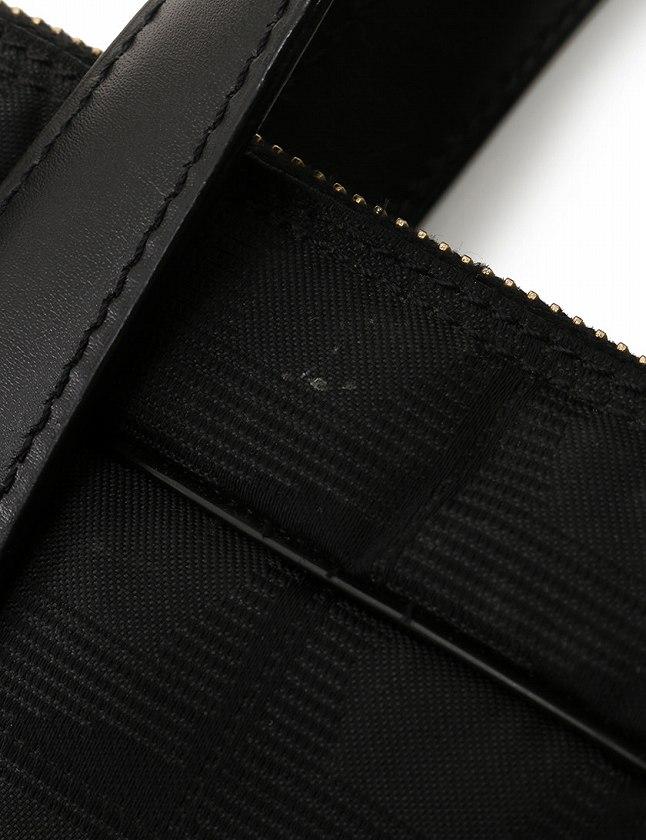 シャネル CHANEL ビジネスバッグ ブリーフケース 黒 ブラック ナイロン レザー A15974 ニュートラベルライン レディース