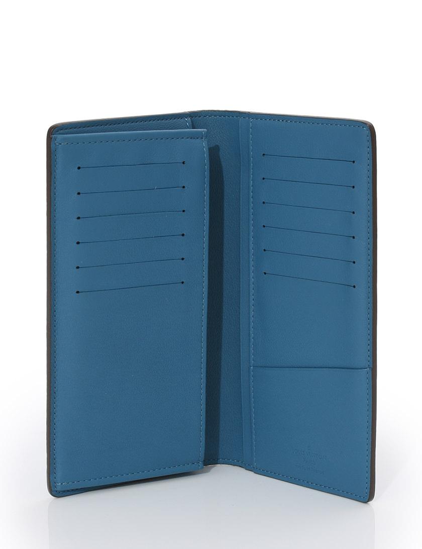 ルイヴィトン LOUIS VUITTON 長財布 2つ折り財布 青 ブルー グリ 小物 トリヨン レザー M58193