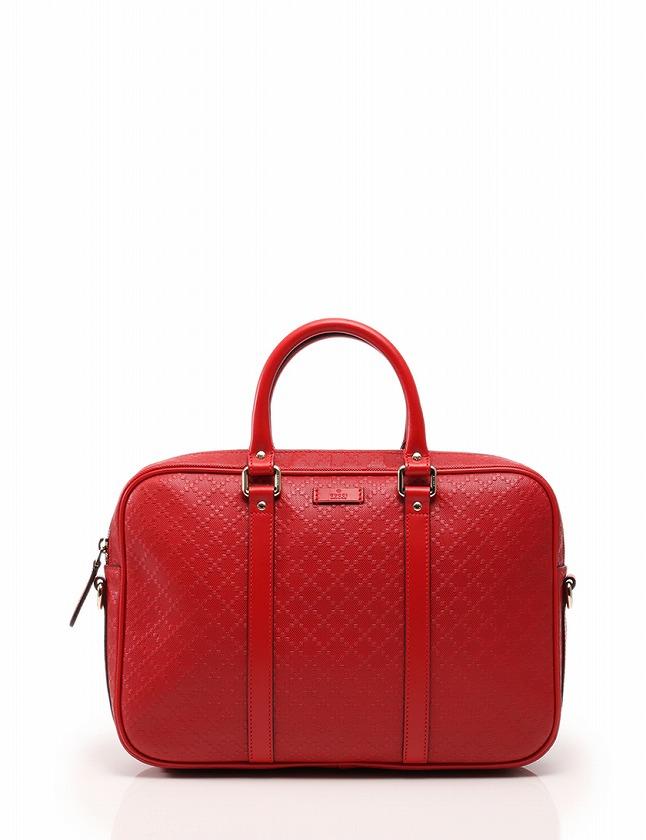 quality design 6b861 2f2c3 グッチ GUCCI ビジネスバッグ ブリーフケース ディアマンテ 赤 レッド レザー 344357 保存袋付き メンズ レディース