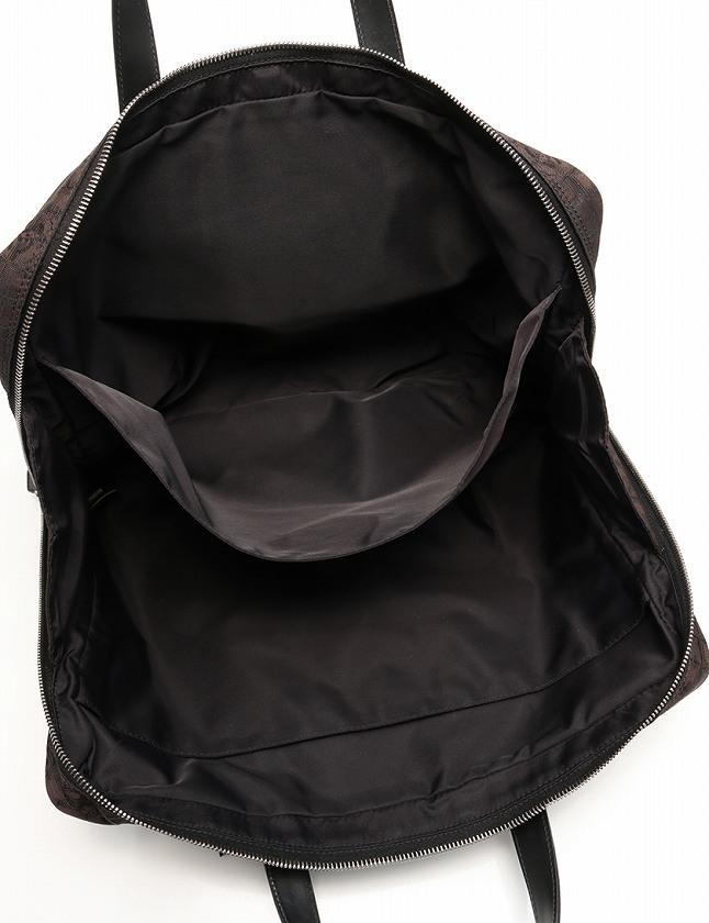 シャネル CHANEL ブリーフケース ショルダーバッグ ニュートラベルライン 茶色 ブラウン 黒 ナイロンキャンバス レザー A26158 保存袋 ギャラ付き レディース