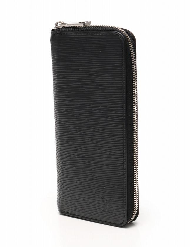 on sale c7bf5 05d14 ルイヴィトン LOUIS VUITTON ジッピー ウォレット ヴェルティカル 長財布 ノワール 黒 ブラック 小物 エピ レザー ラウンドファスナー  M60965 メンズ レディース