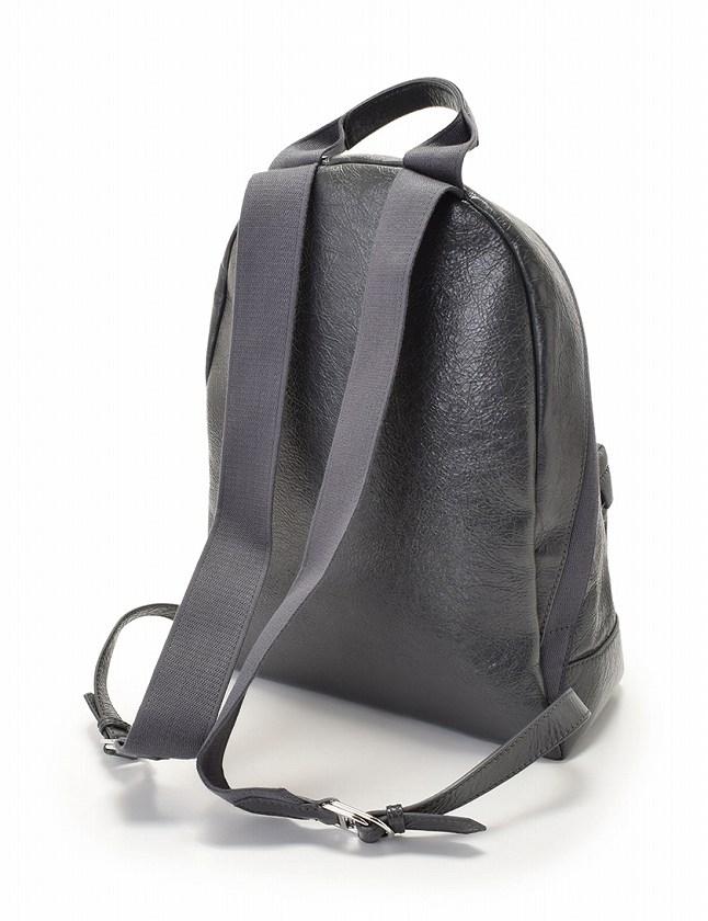 big sale 75a42 5fa7d バレンシアガ BALENCIAGA バックパック リュック グレー ラムスキン 409010 保存袋付き レディース