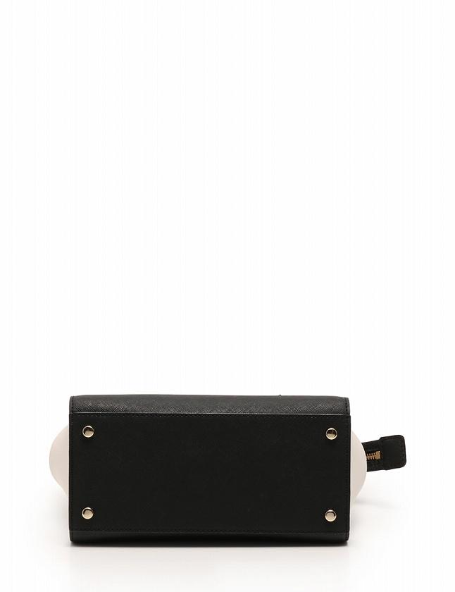 3edb199f6826 ... ケイトスペード KATE SPADE ハンドバッグ ショルダーバッグ 黒 ブラック 白 レザー Cameron Street Mini  Candace バイ