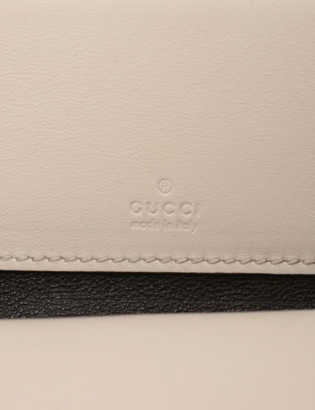 グッチ GUCCI iPhoneケース 財布 グッチシマ ラウンドファスナー オフホワイト 白 小物 レザー 269884 箱付き レディース