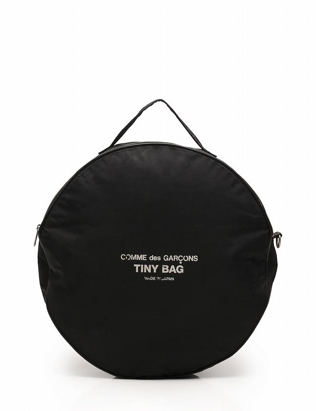 41194d06fedc コムデギャルソン COMME des GARCONS ハンドバッグ ショルダーバッグ 黒 ブラック ロゴ ナイロン TINY BAG 2WAY  レディース
