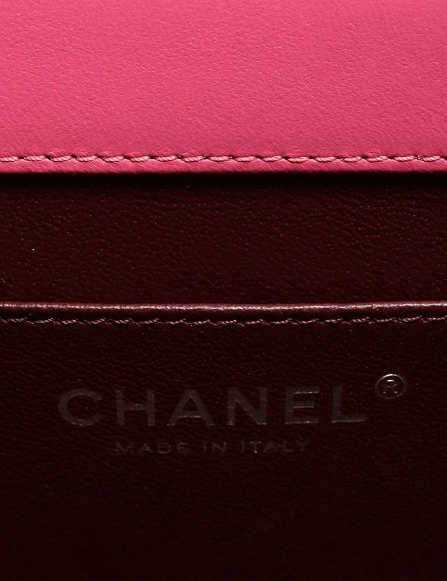 シャネル CHANEL ショルダーバッグ ポシェット マトラッセ ココマーク チェーン ヴィンテージシルバー金具 ピンク レザー 保存袋 ギャラ付き レディース