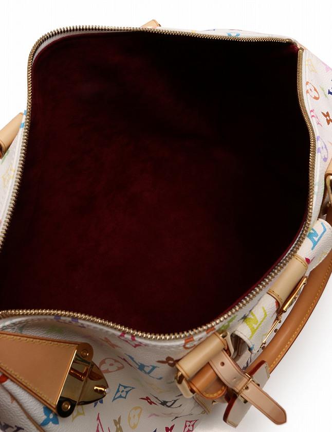 947bf42812ce ルイヴィトン LOUIS VUITTON ボストンバッグ キーポル 45 モノグラム マルチカラー ブロン 白 ホワイト PVC レザー ...
