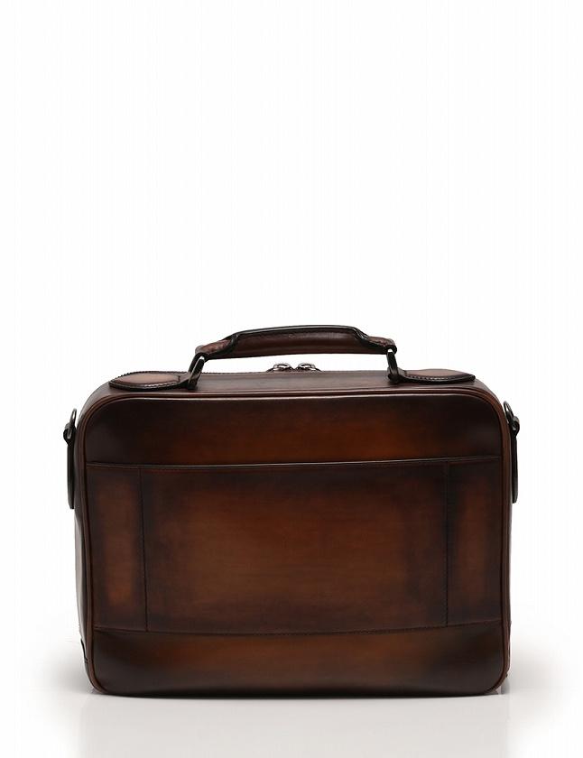ベルルッティ Berluti トラベルバッグ ビジネスバッグ ショルダーバッグ 茶色 ブラウン レザー F501 保存袋付き 2WAY メンズ