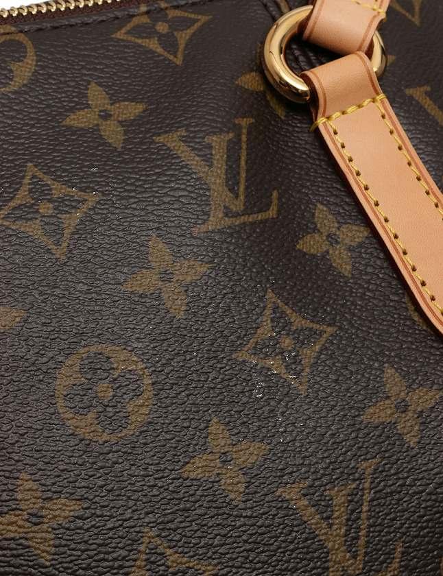 ルイヴィトン LOUIS VUITTON トートバッグ ショルダーバッグ トータリー PM モノグラム 茶色 ブラウン PVC レザー M56688 保存袋付き レディース